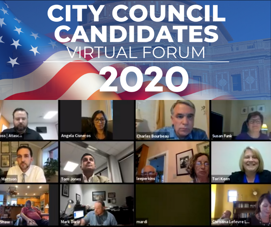 2020 city council candidates virtual forum