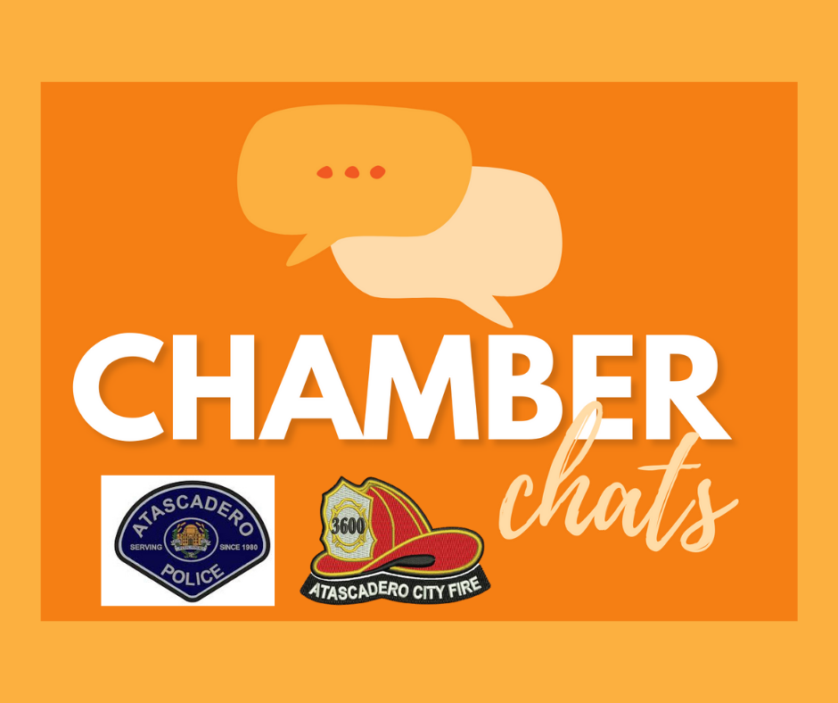 Chamber Chats: The Atascadero Policemen's & Firemen's Associations