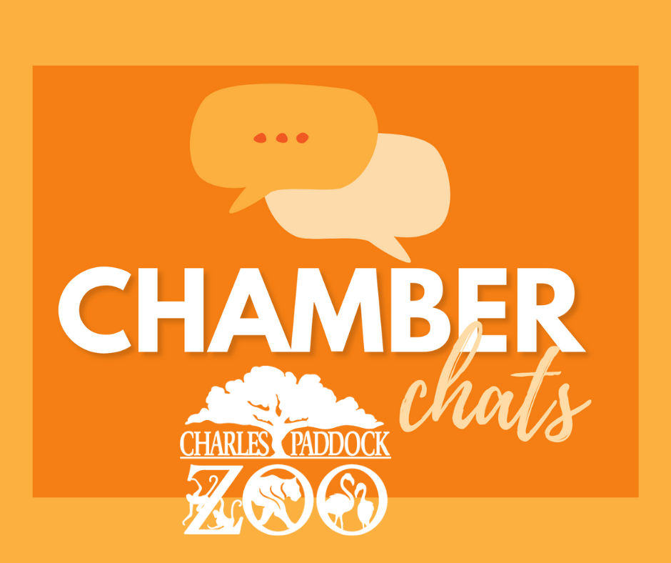 chamber chats with charles paddock zoo