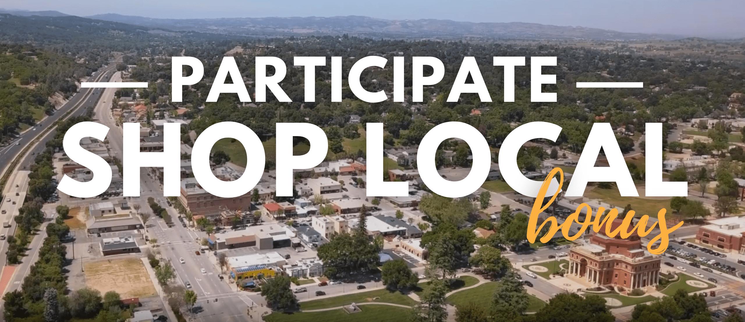 Businesses Participate Shop Local Program